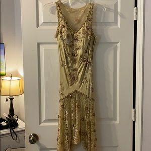 She Wong Nocturne Beaded Dress
